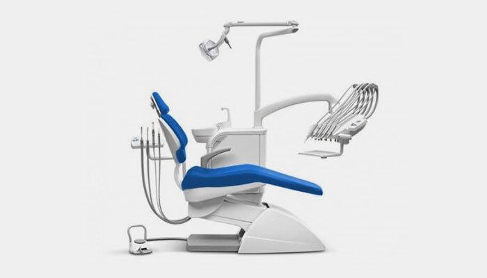 Partes del sillón dental