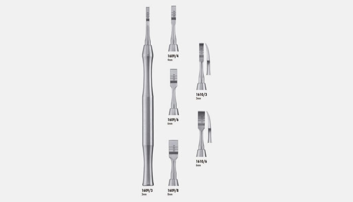 Cinceles dentales, qué son y usos